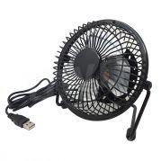 Mini ventilator met usb 14cm