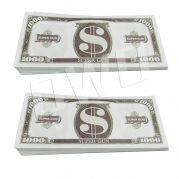 Money gun geld pistool cash cannon - geld - 1000 dollar - 100 stuks